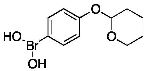 [4-[(Tetrahydro-2H-pyran-2-yl)oxy]phenyl]boronic Acid