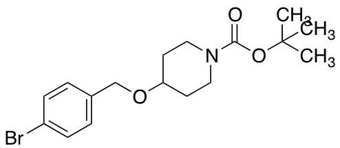 tert-Butyl 4-[(4-bromobenzyl)oxy]piperidine-1-carboxylate