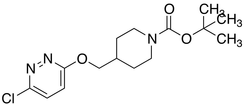 tert-butyl 4-{[(6-chloropyridazin-3-yl)oxy]methyl}piperidine-1-carboxylate