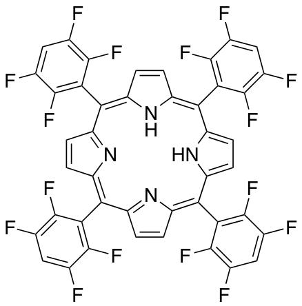 meso-Tetra (2,3,5,6-tetrafluorophenyl) porphine