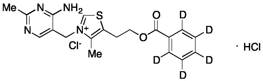 Thiamine Benzoate-d5 Hydrochloride