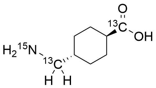 Tranexamic Acid-13C2,15N
