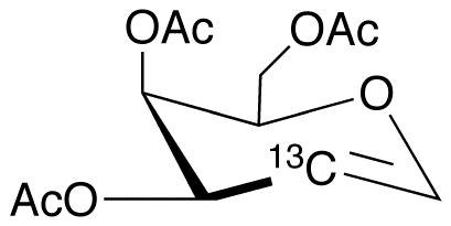 Tri-O-acetyl-D-[2-13C]galactal