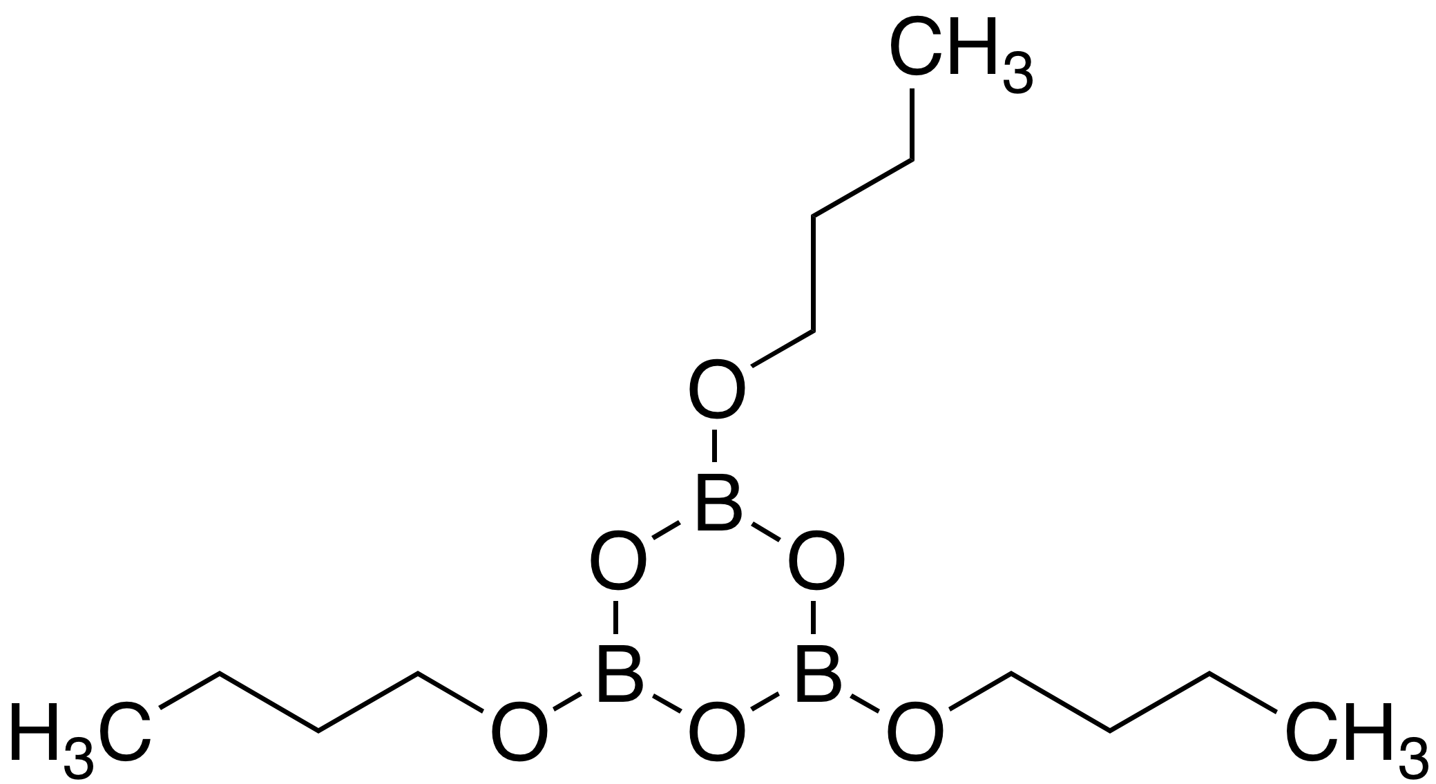 2,4,6-Tributoxyboroxin
