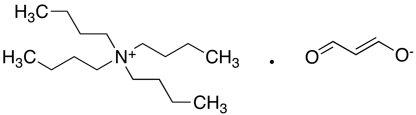 N,N,N-Tributyl-1-butanaminium Salt with (E)-3-Hydroxy-2-propenal
