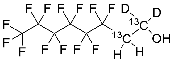 2-Perfluorohexyl-[1,1-2H2]-[1,2-13C2]-ethanol