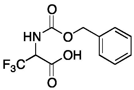 3,3,3-Trifluoro-N-[(phenylmethoxy)carbonyl]alanine