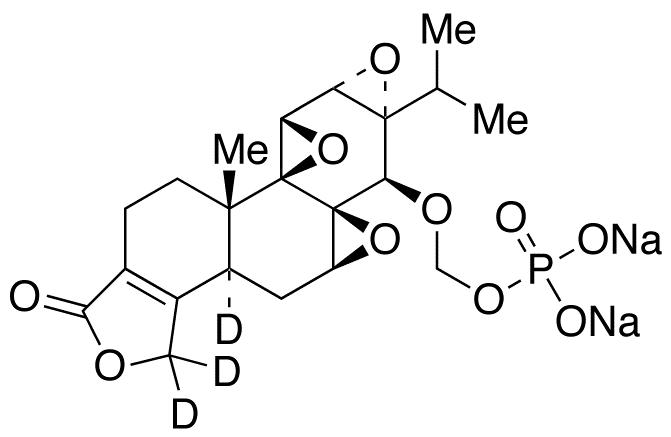 Triptolide O-Methyl Phosphate-d3 Disodium Salt