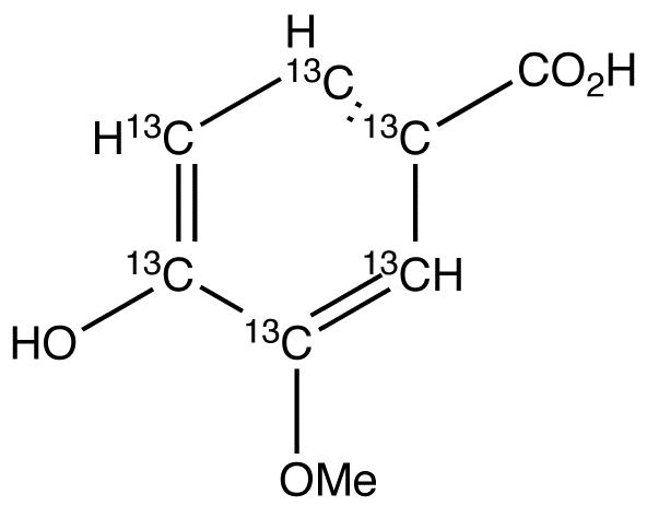 Vanillic Acid-13C6