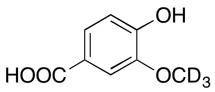 Vanillic-d3 Acid