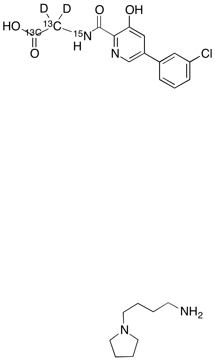 Vadadustat-13C2,D2,15N