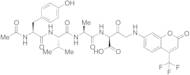 N-Acetyl-Tyr-Val-Ala-Asp-7-amido-4-trifluoromethylcoumarin