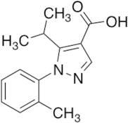 1-(2-Methylphenyl)-5-(propan-2-yl)-1H-pyrazole-4-carboxylic Acid