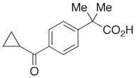 4-(Cyclopropylcarbonyl)-,-dimethylbenzeneacetic Acid