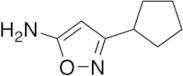3-Cyclopentyl-1,2-oxazol-5-amine