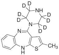 N-Demethyl Olanzapine-d8