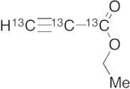 Ethyl Propargylate-13C3