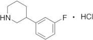 3-(3-Fluorophenyl)piperidine Hydrochloride